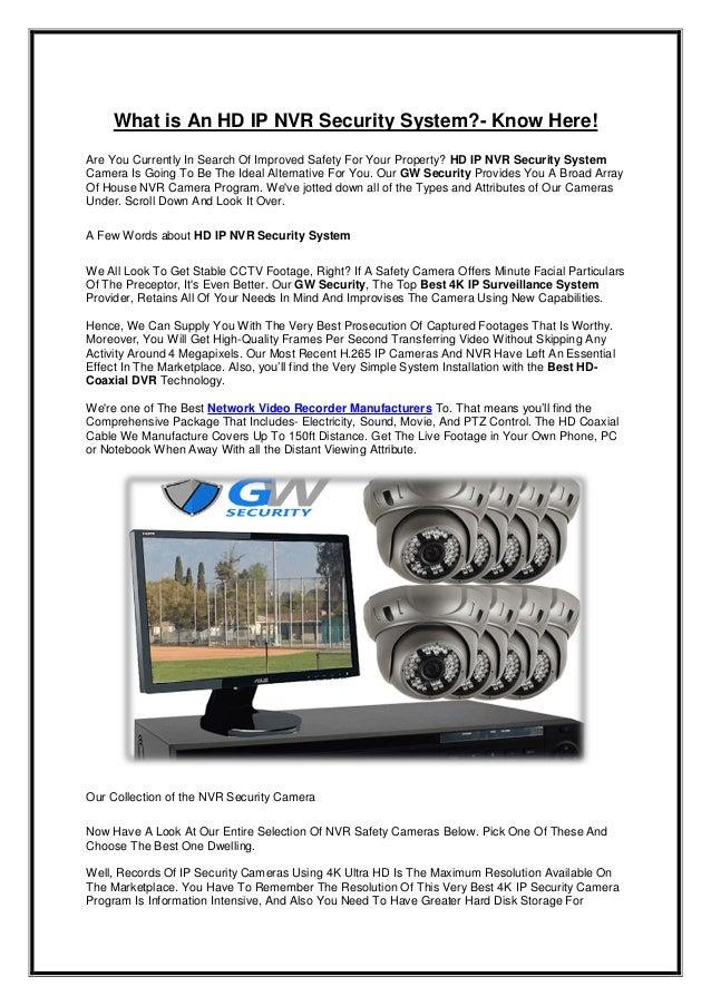 HD IP NVR Security System   Best 4K IP Surveillance System   Best HD-…
