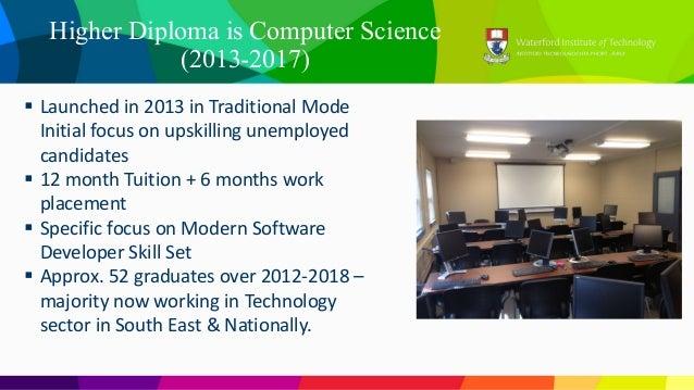 H dip student survey results 2018 Slide 3