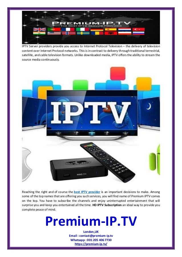 Hd iptv subscription by top itpv server provider