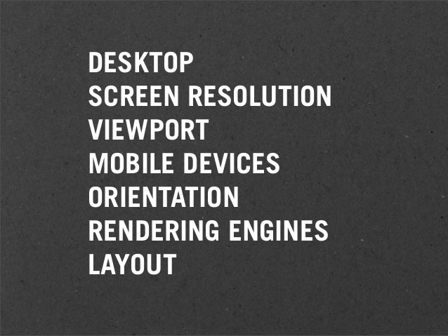 RESPONSIVE Adaptive Systems for Multiple Devices HD Live 4th Nov 2010 WEB DESIGN