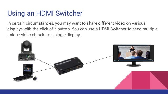 HDMI Extensions and overflow monitors