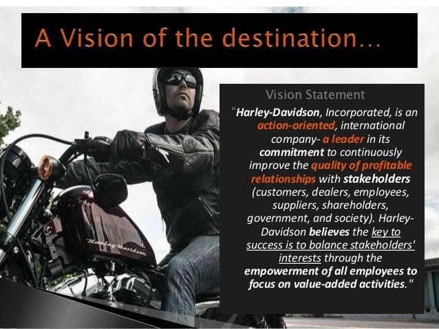 harley davidson mission statement 2008