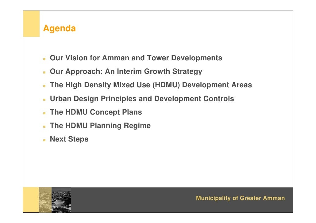 High Rise Towers Detailed Plans | Amman Institute Slide 2