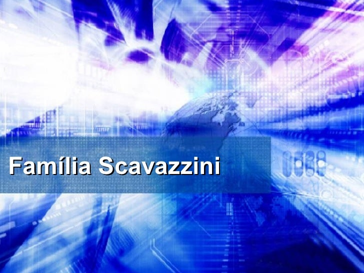 Família Scavazzini