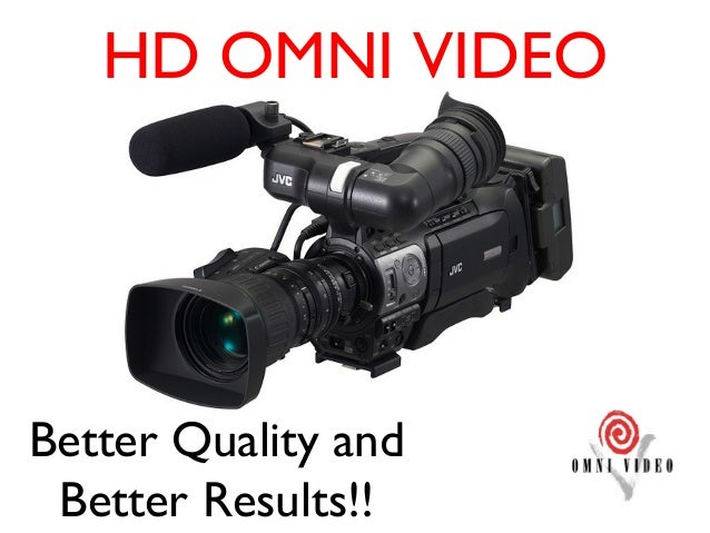 HD OMNI VIDEOBetter Quality and Better Results!!