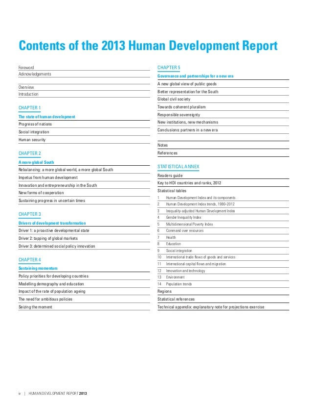 human development report 2013 pdf