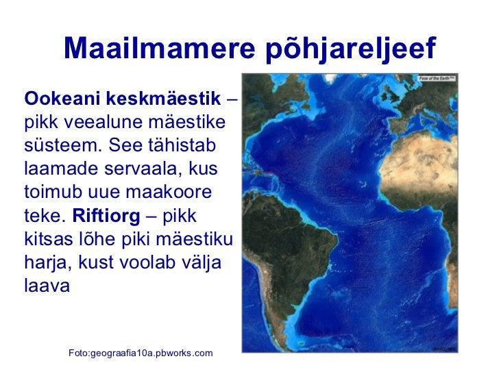 Maailmamere põhjareljeefSüvik – pikk ja kitsas nõgu maailmamerepõhjas, mis on tekkinud laamasukeldumise kohta   Joonis: vo...