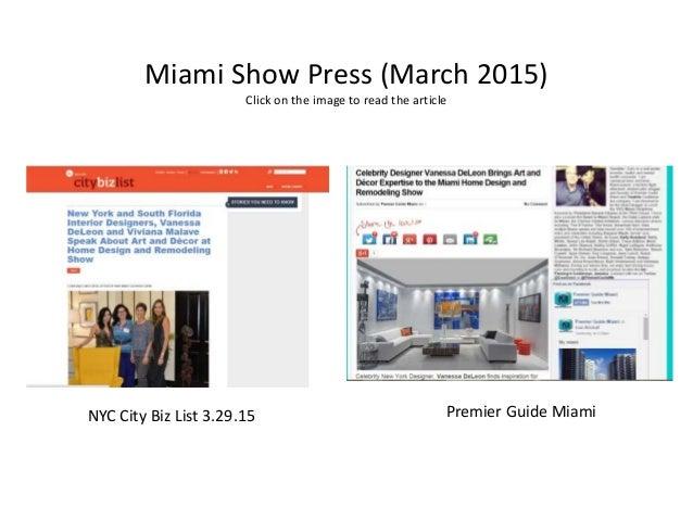 ... 13. Miami Show ...