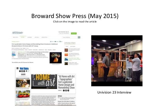 ... 16. Broward Show ...