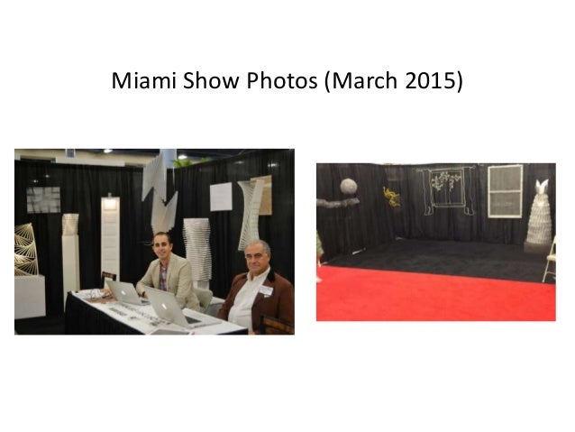 Miami Show Photos (March 2015) ...