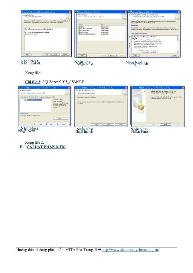 Hướng dẫn sử dụng phần mềm chấm công MITA PRO 2015 Slide 2