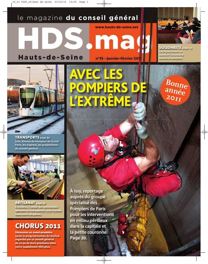 le magazine du conseil général                                                     www.hauts-de-seine.net                 ...
