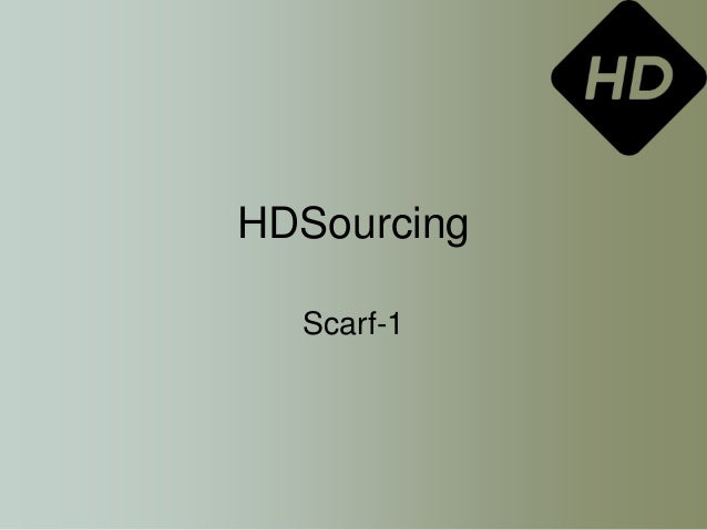 HDSourcing Scarf-1