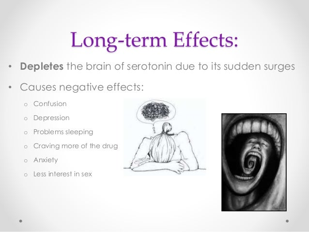 exploring the physiological and psychological effects of mdma drug Abstract rationale: 3,4-methylenedioxymethamphetamine (mdma) mainly releases serotonin (5-ht) and is contained in the recreational drug ecstasy 5-ht is known to play an important role in mood and anxiety disorders, for which there is a female preponderance to date, there are no systematic data on gender differences in the subjective effects of mdma.