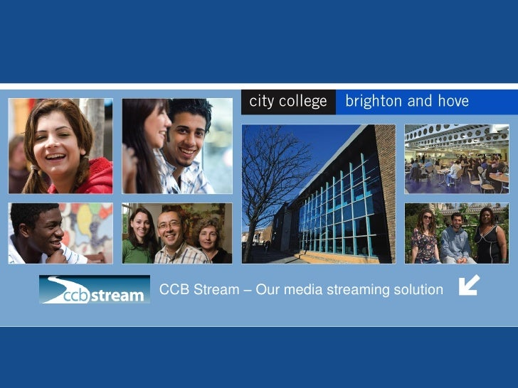 CCB Stream – Our media streaming solution