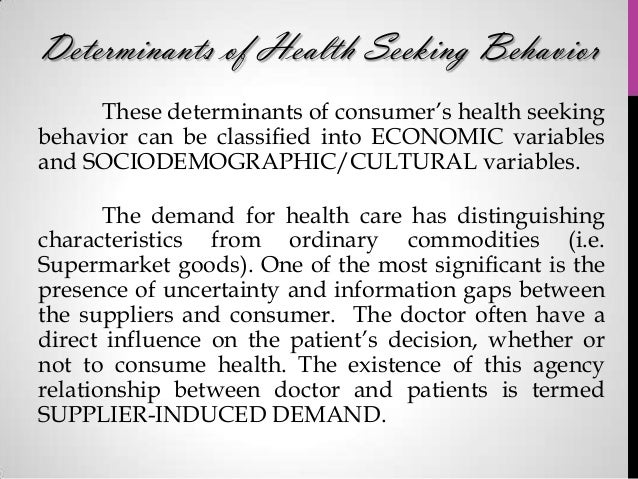 the existence of supplier induced demand economics essay Hence the paper argues that contemporary policy and economic  leaving this  aside for the moment supplier-induced demand may be manifest in quantity and   representations of those institutions: since institutions can only exist if people.