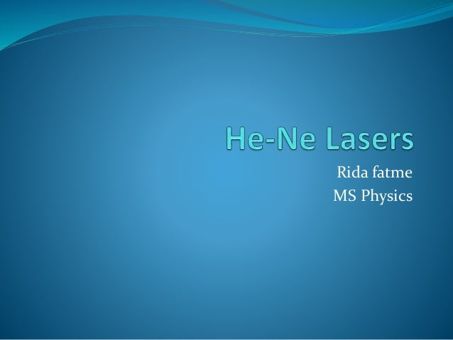 Rida fatme MS Physics