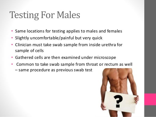 Where can a guy get tested for stds