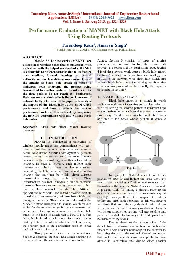 Tarandeep Kaur, Amarvir Singh / International Journal of Engineering Research and Applications (IJERA) ISSN: 2248-9622 www...
