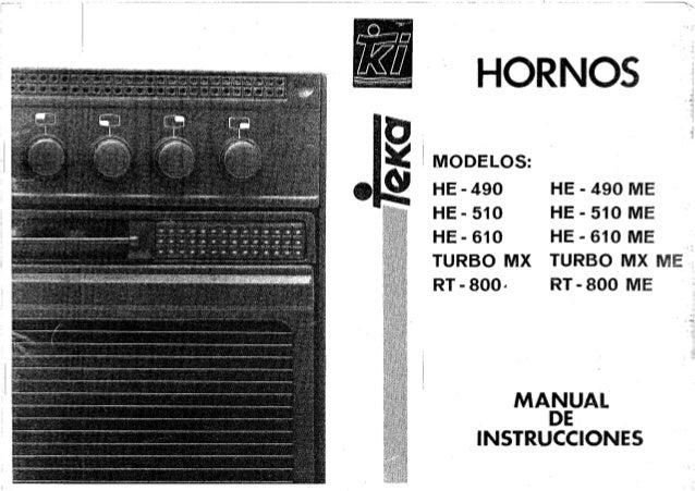 Horno teka he 490 me for Horno teka hc 510