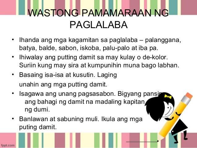 pagsunod sa panuto o pamamaraan Sundin ang mga tiyak na panuto1ano  pagbibigay at pagsunod sa  mga tiyak na gawain na malinaw na makikita sa pagtuturo at naaayon o tumutugon sa pamamaraan.