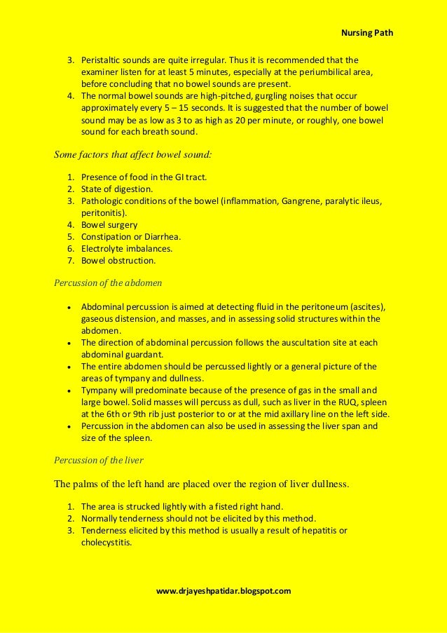 head to toe assessment pdf