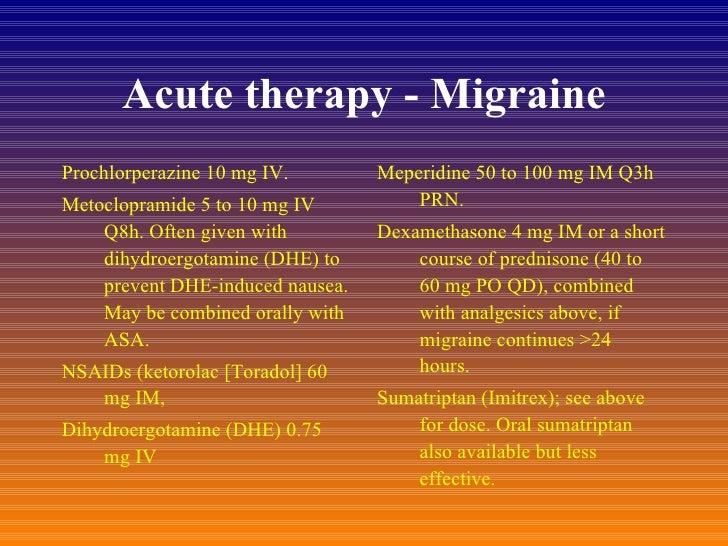Prochlorperazine 10 Mg For Nausea