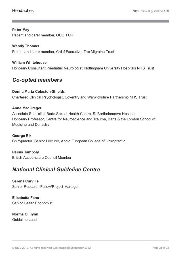 nice national clinical guideline centre uk stemi