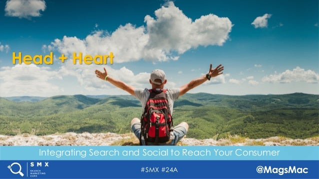#SMX #24A @MagsMac Head + Heart Integrating Search and Social to Reach Your Consumer