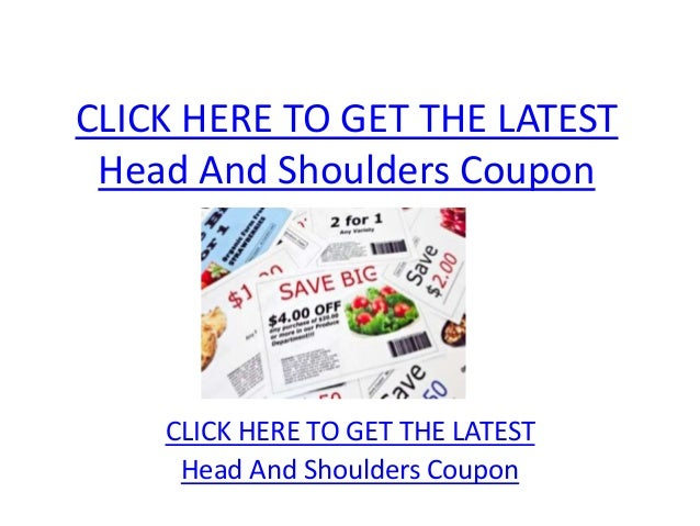 Jul 28, · $2 Head & Shoulders Shampoo Coupon Manufacturer: Just complete the form and get a $2 manufacturer coupon for head & shoulders intensive solutions shampoo valid at most grocery retailers, and pharmacies who carry their products. 15% Off Head & Shoulders Product Target: Get a 15% discount on Head and Shoulders hair care products.5/5(7).