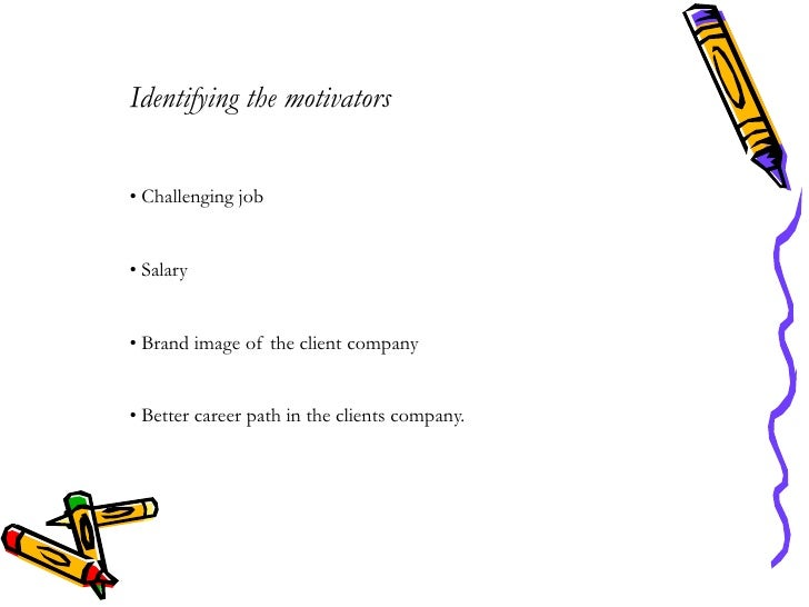 identifying candidate motivators