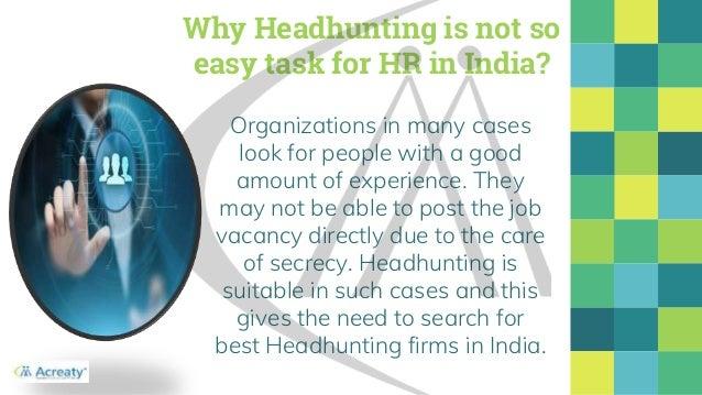 Headhunting 4