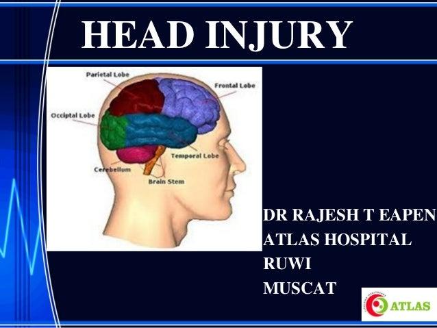 HEAD INJURY DR RAJESH T EAPEN ATLAS HOSPITAL RUWI MUSCAT