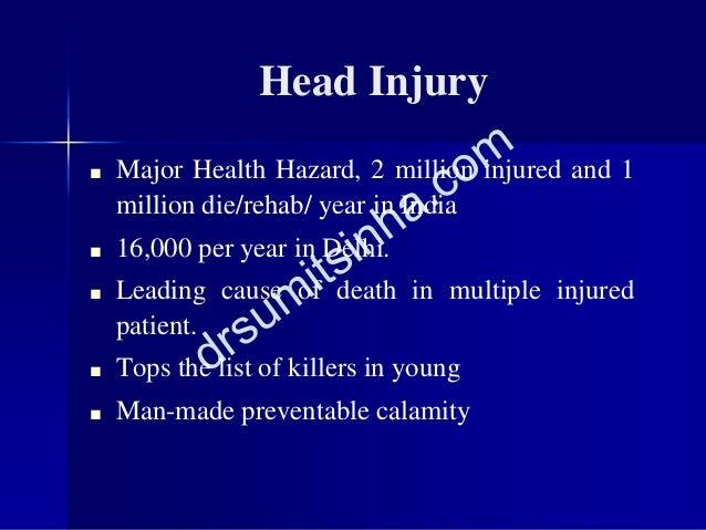 ■ Major Health Hazard, 2 million injured and 1 million die/rehab/ year in India ■ 16,000 per year in Delhi. ■ Leading caus...