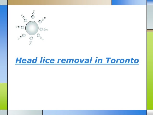 Head lice removal in Toronto