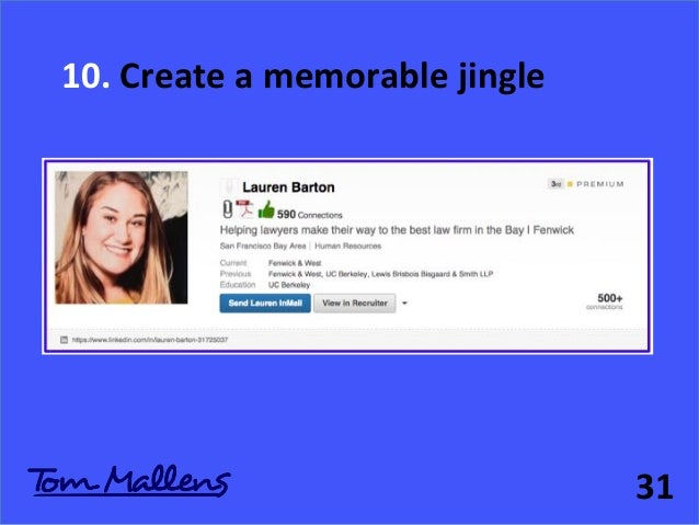 how to write your linkedin profile