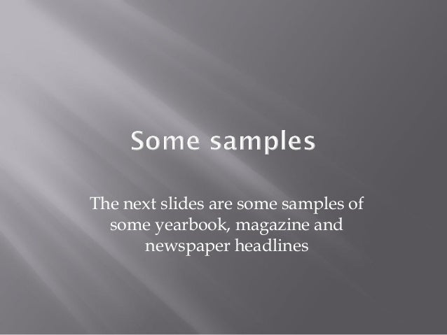 headline writing Leave readers wanting to learn more with a catchy, informative headline.
