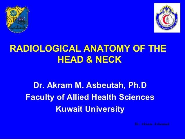 Head & neck rs x-rays