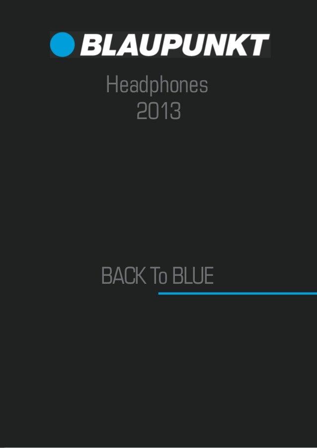 Headphones   2013BACK To BLUE