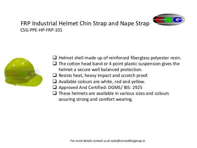 Head protection Slide 3