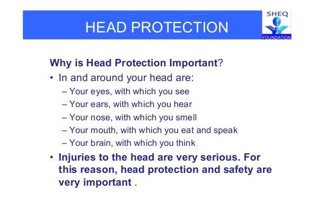 Head safety Slide 3