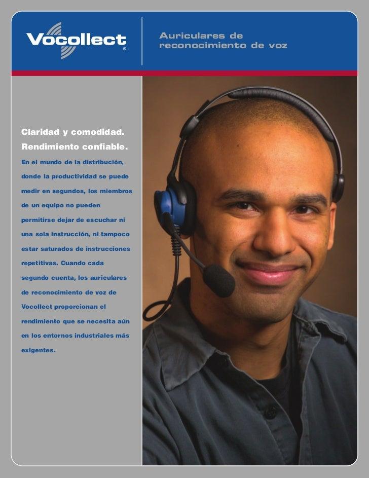 Auriculares de                                   reconocimiento de vozClaridad y comodidad.Rendimiento confiable.En el mun...