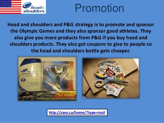 Head and shoulders promotional mix
