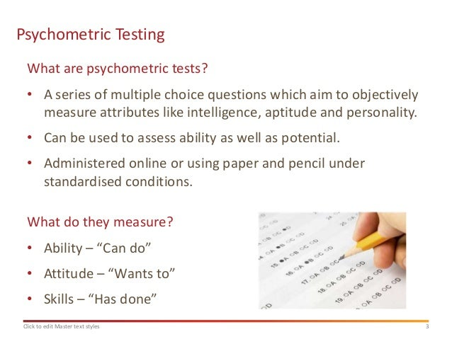 personality test to assess a young A personality test is a method of who are likely to be successful or maternal attachment in young it can also be used to assess the personality.