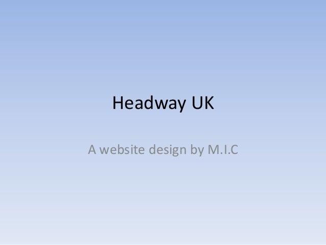 Headway UKA website design by M.I.C