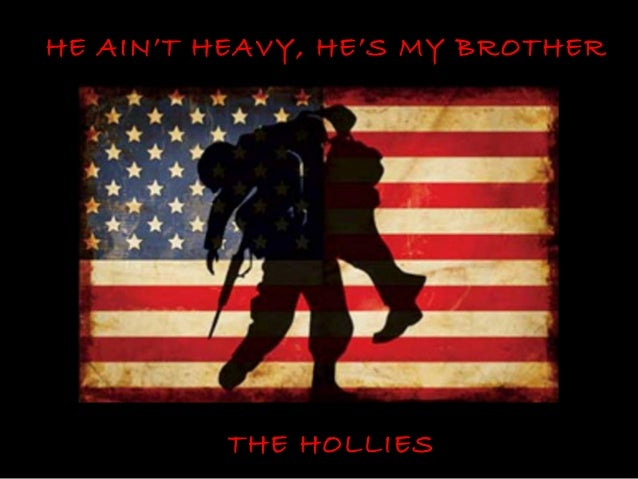 HE AIN'T HEAVY, HE'S MY BROTHER          THE HOLLIES