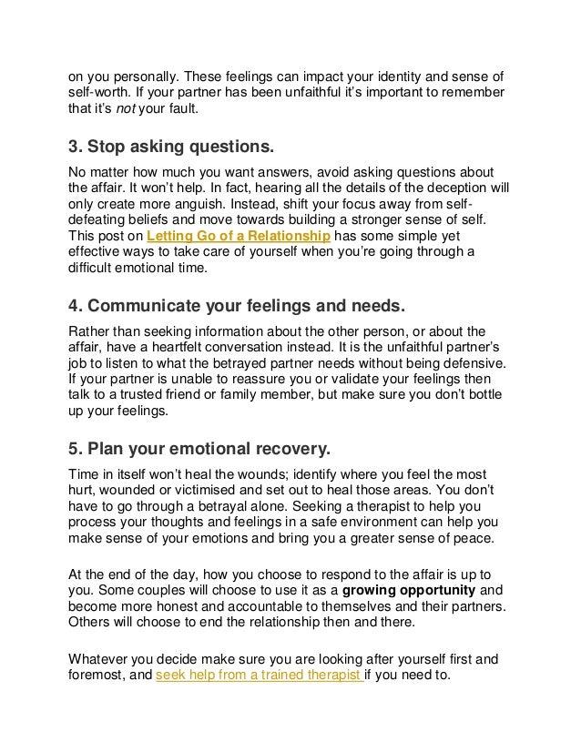 Healing after betrayal: 5 steps to mend a broken heart