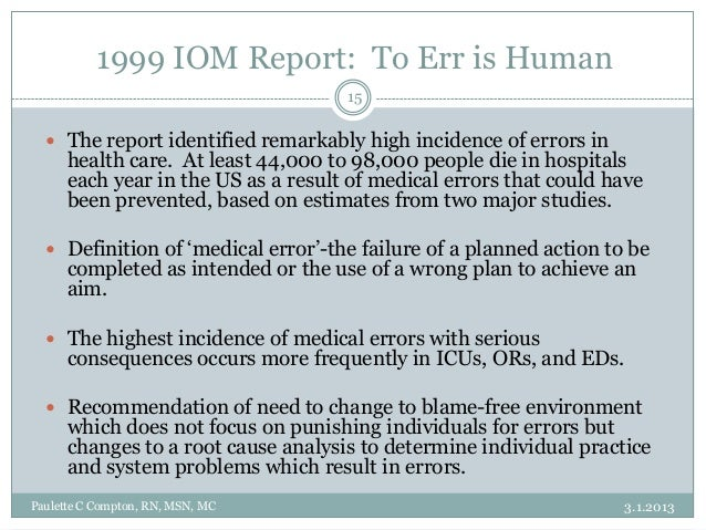 iom report on nursing education practice Free essay: changes in the health care system and the practice of nursing  have become complex technological changes, complicated client.