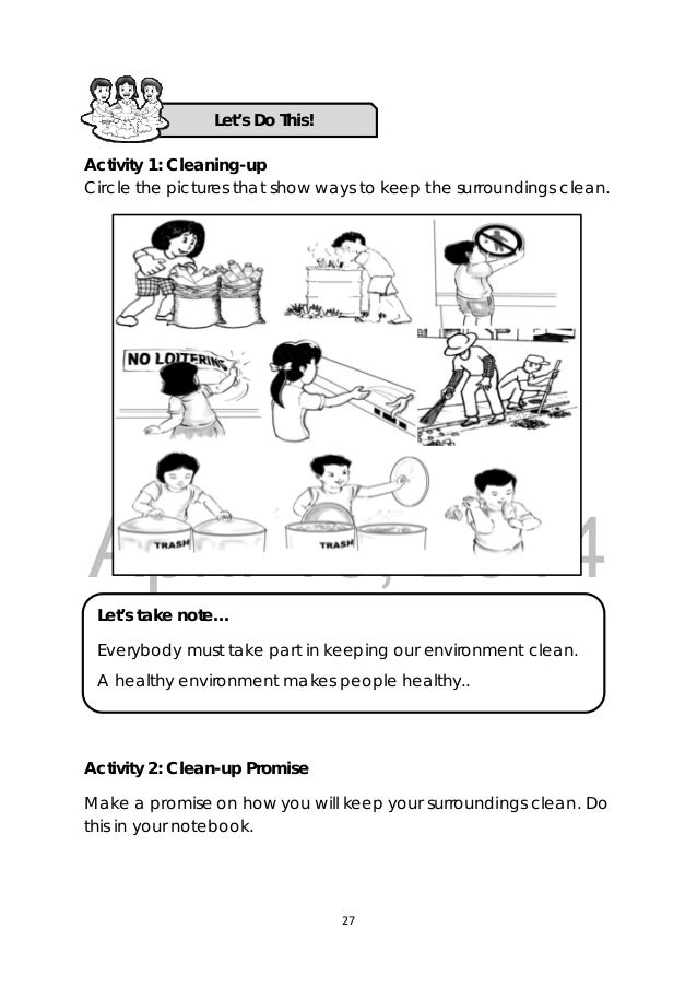 4th Grade 4th grade health worksheets : K TO 12 GRADE 3 LEARNER'S MATERIAL IN HEALTH