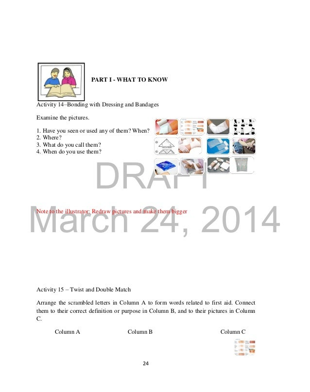 4th Grade 4th grade health worksheets : K TO 12 GRADE 9 LEARNER'S MATERIAL IN HEALTH